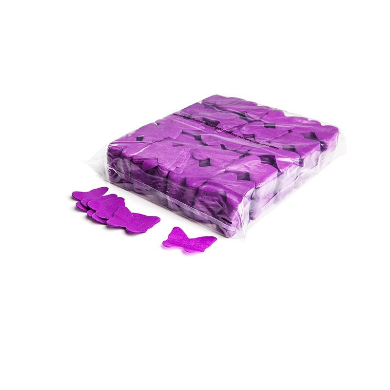 Schritt 2: GIGANT - Slowfall FX Konfetti Schmetterling lila