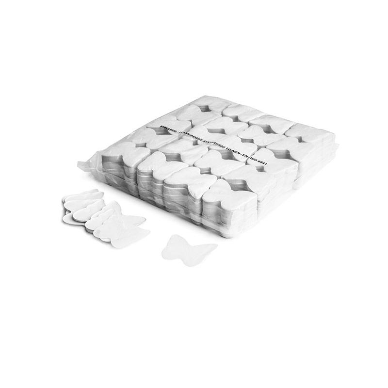 Schritt 2: GIGANT - Slowfall FX Konfetti Schmetterling weiß
