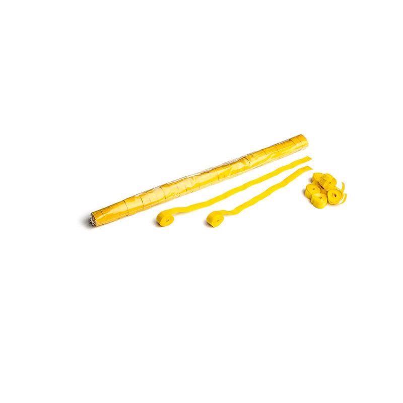 Schritt 2: GIGANT – Paper Streamer gelb – 10 m x  1,5 cm – 32 Rollen