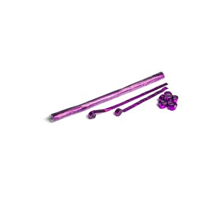 Schritt 2: GIGANT - Metallic Streamer pink - 10 m x  1,5 cm - 32 Rollen