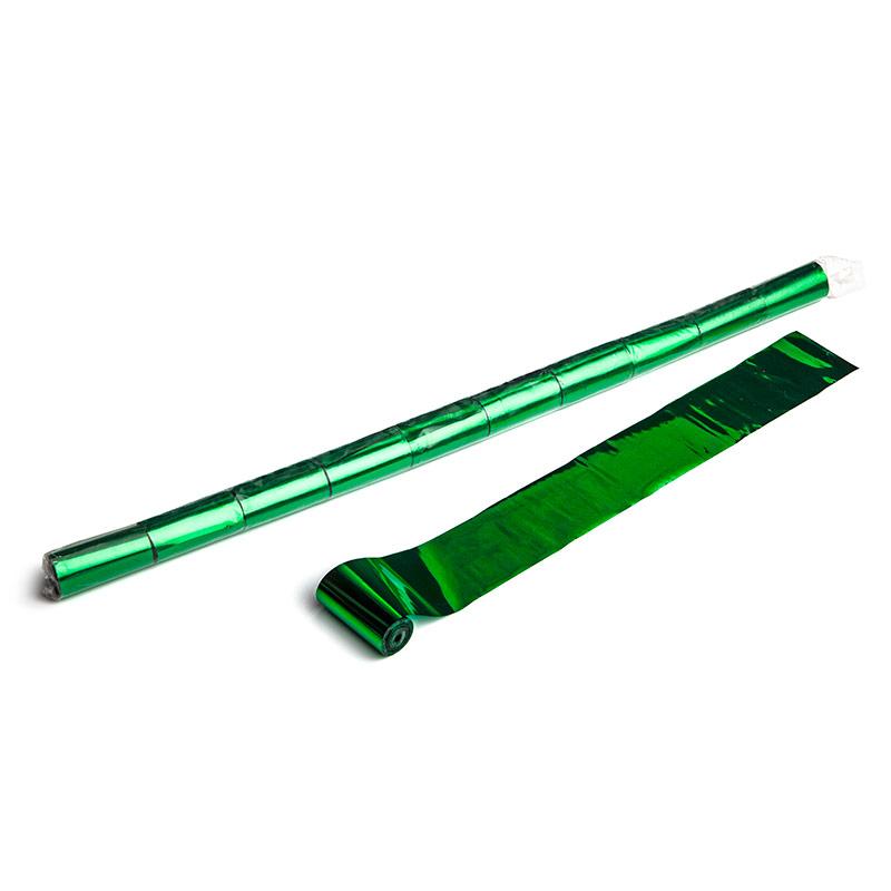 Schritt 2: GIGANT - Metallic Streamer dunkelgrün - 10 m x  5 cm - 20 Rollen