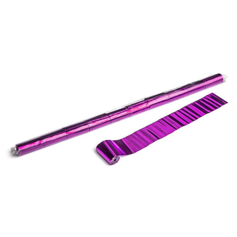 Schritt 2: GIGANT - Metallic Streamer pink - 10 m x  5 cm - 20 Rollen