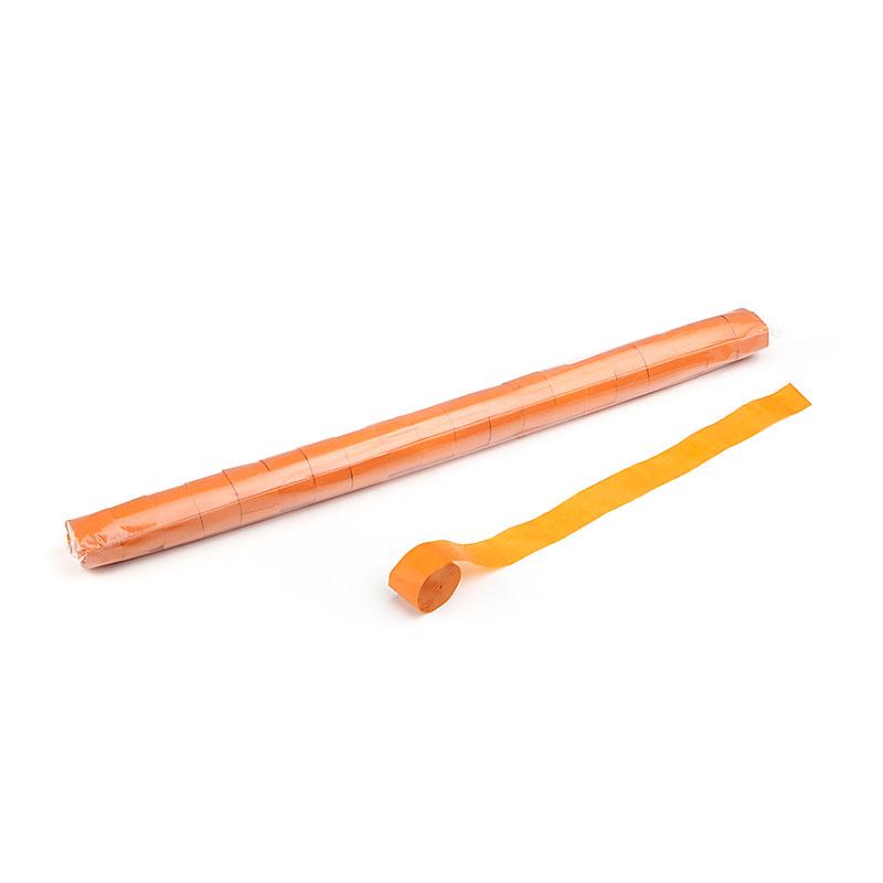 Schritt 2: GIGANT - Metallic Streamer orange - 20 m x 2,5 cm - 20 Rollen