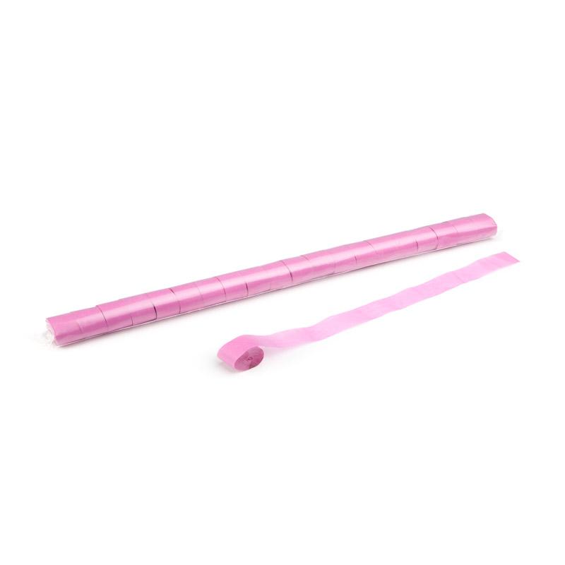 Schritt 2: GIGANT - Metallic Streamer pink - 10 m x  2,5 cm - 20 Rollen