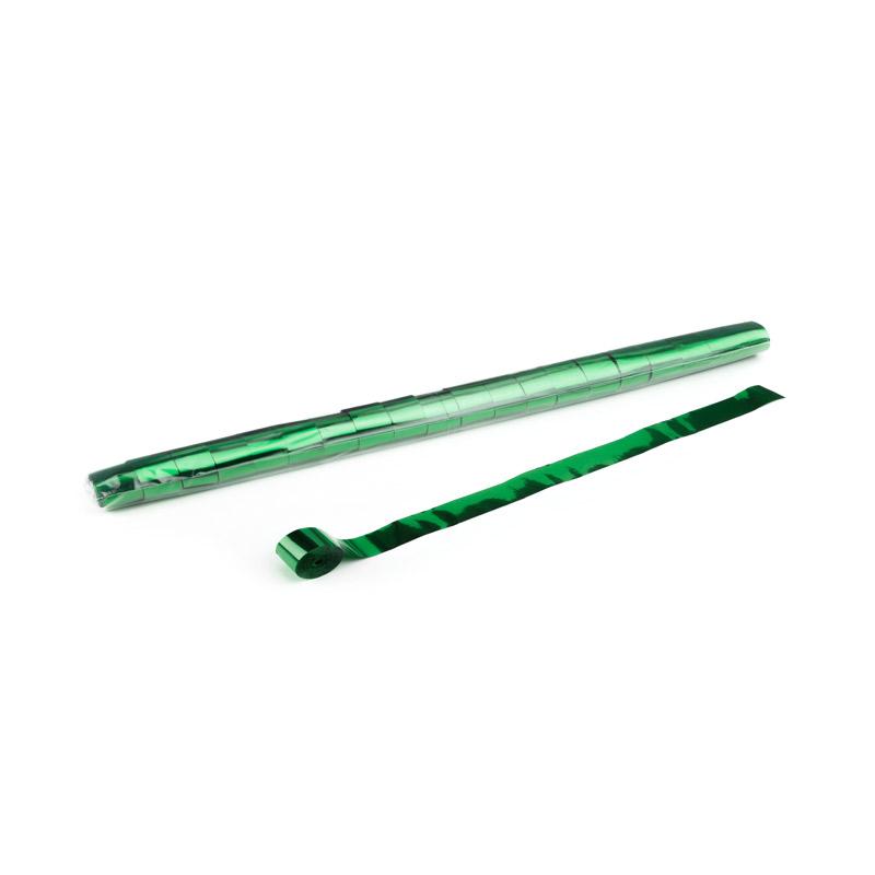 Schritt 2: GIGANT - Metallic Streamer dunkelgrün - 10 m x  2,5 cm - 32 Rollen