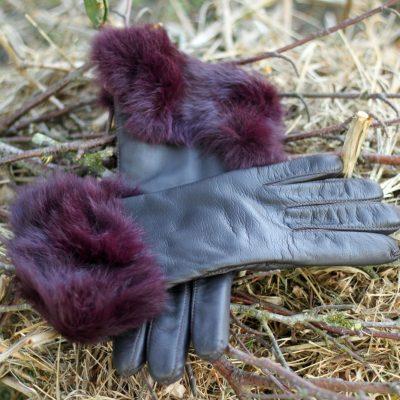Handsker med kanin