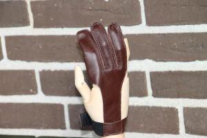 Bueskydnings handske