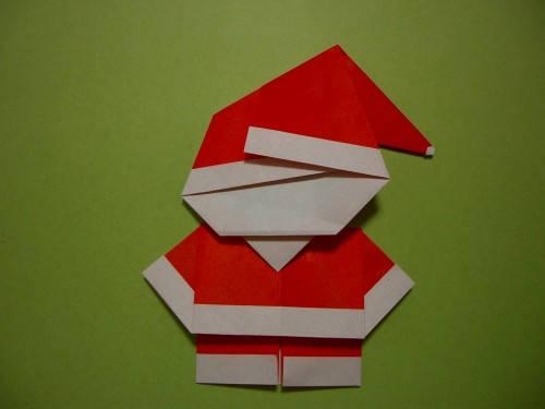 Қағаздың Аяз ата. Оригами