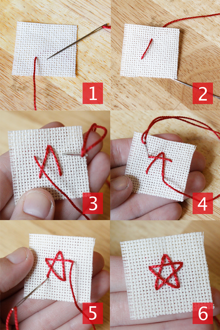 How To Embroider A Star : embroider, Embroidery, Stitches