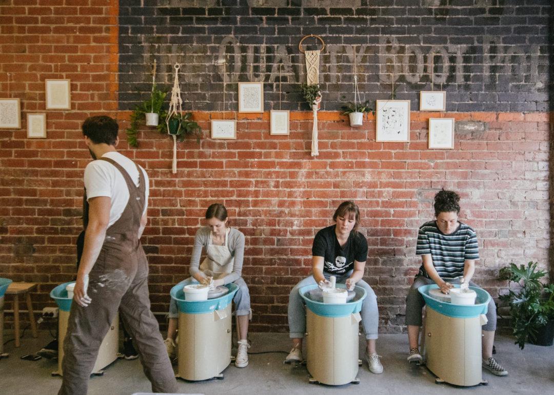 Workshop Space | Ceramiqués Camberwell, VIC
