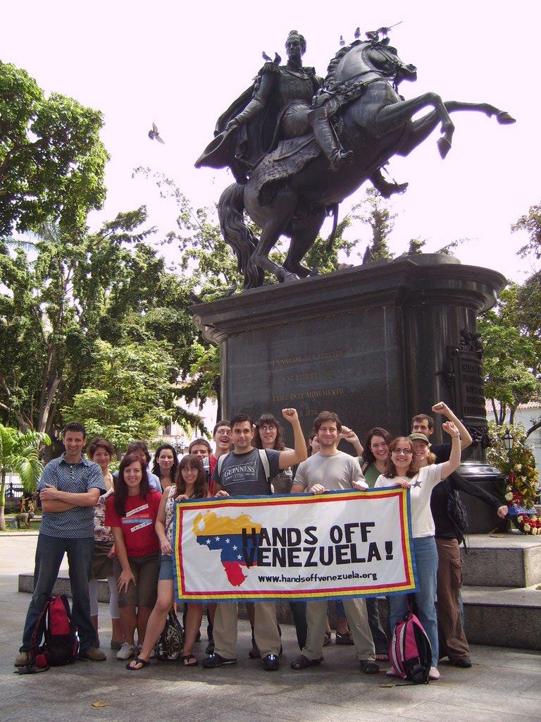 Hands off Venezuela-grupp