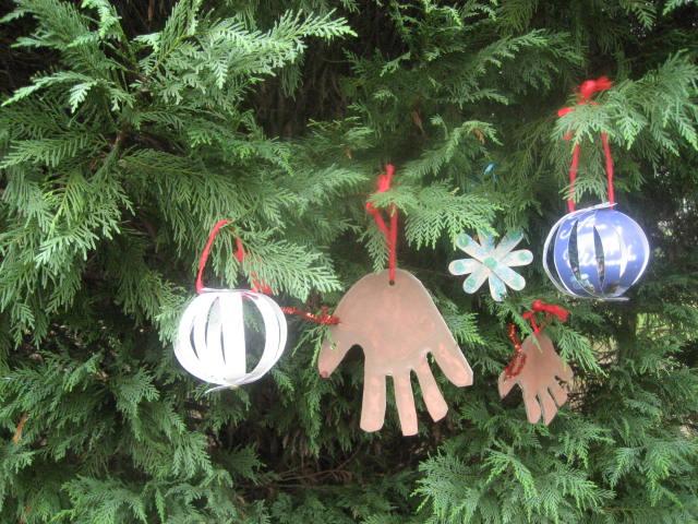 How To Make Kid S Handprint Snowmen Ornaments
