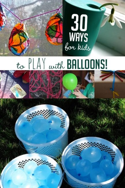 Looking for a creative twist on a classic: balloons! You'll love these fun ways to play with balloons!