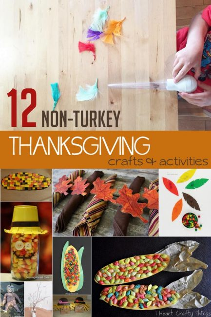 12 Non Turkey Thanksgiving Crafts For Kids To Make Amp Do