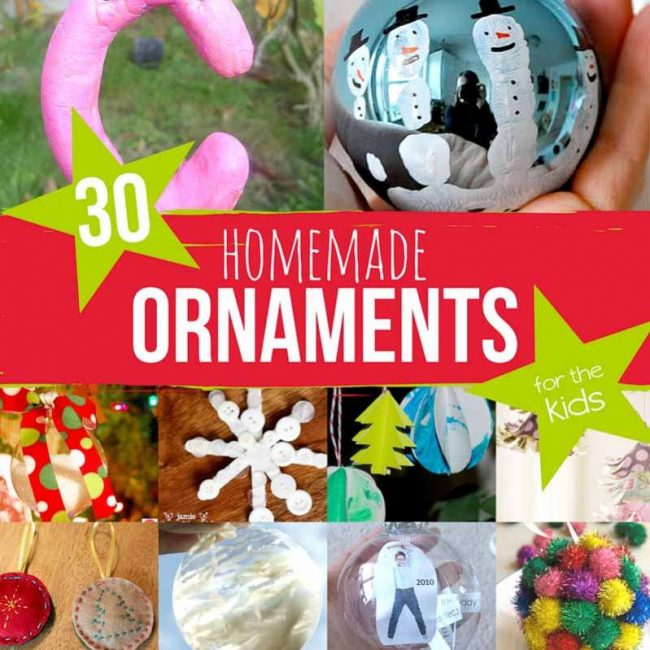 Easy Kid Ornaments For Christmas