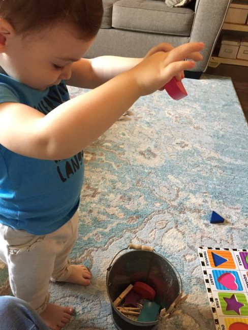 Your toddler will love a simple game that you can DIY in a snap!
