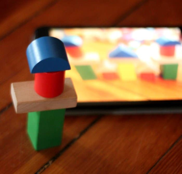 Building with blocks and the iPad
