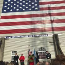 Veterans Day 2018 with flag