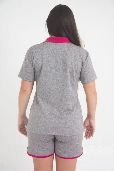 Camisa Esportiva confeccionada em Dry, design moderno e seguindo as principais tendências mundiais em conforto, elegância e segurança.