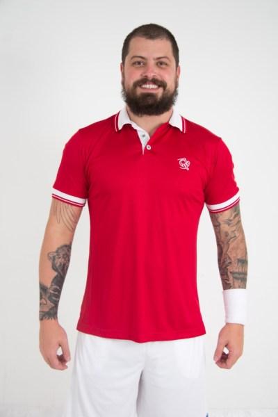 Camisa Esportiva Tennis confeccionada em Dry, design moderno e seguindo as principais tendências mundiais em conforto, elegância e segurança.