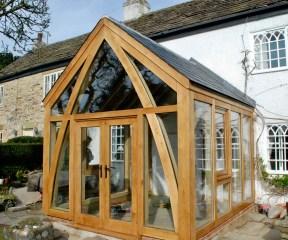 Oak Conservatory angle