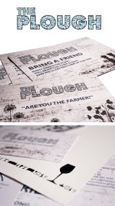 Artwork samples for The plough pub