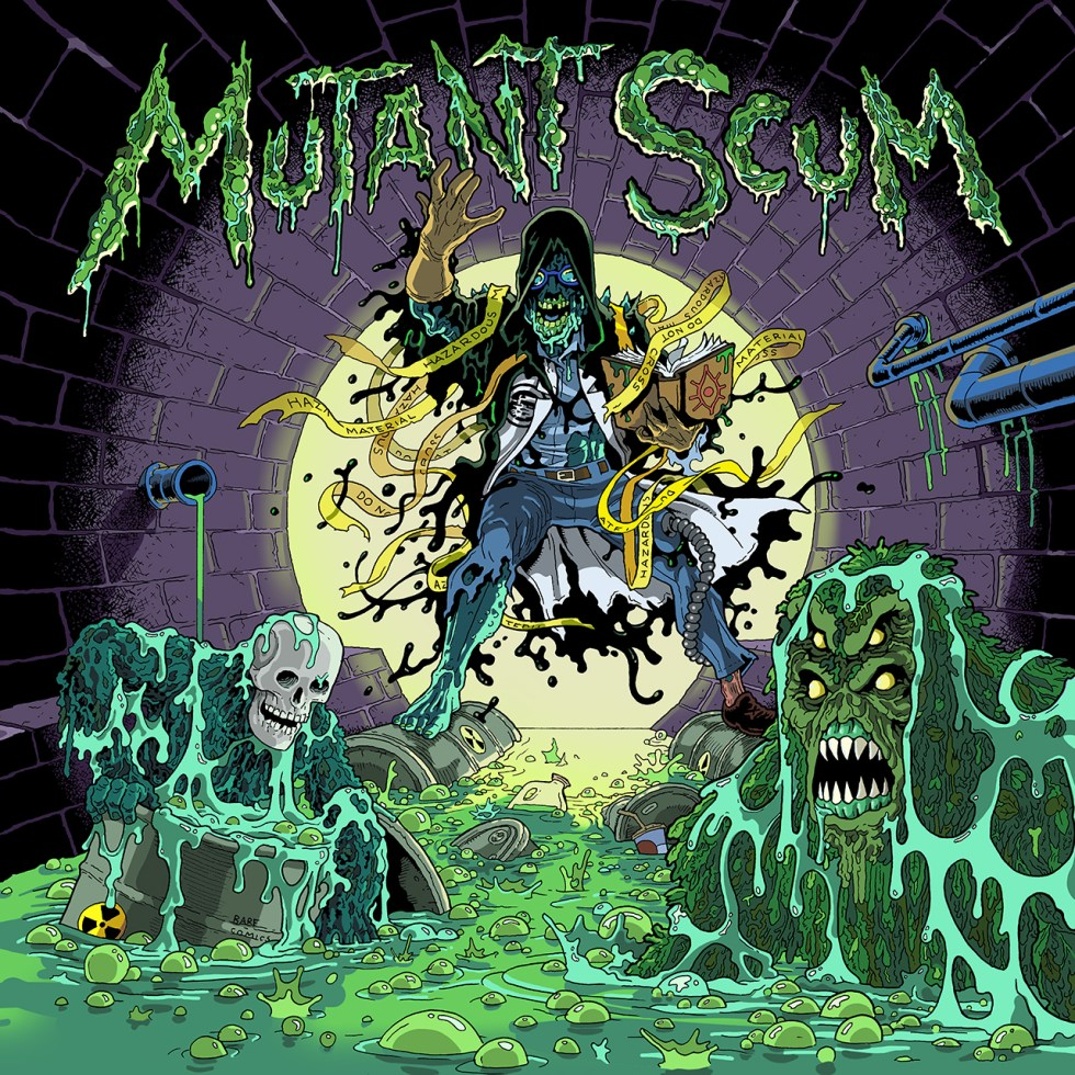 "MUTANT SCUM ""Self a Titled"""