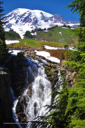 Myrtle Falls - Mount Rainier National Park, WA