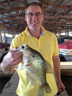 Crappie Caught with Pepop Jigs