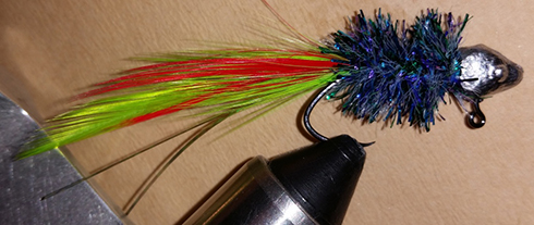 May Fly Handtied Crappie Jig