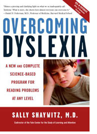Overcoming Dyslexia by Sally Shaywitz
