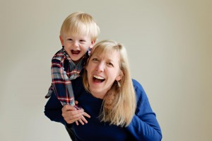 Julie Howard with her son Spencer
