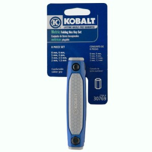 Kobalt Folding Metric Hex Wrench
