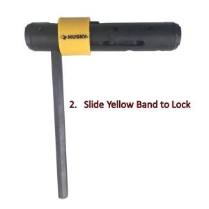 Husky Hex Key Set Torque Handle