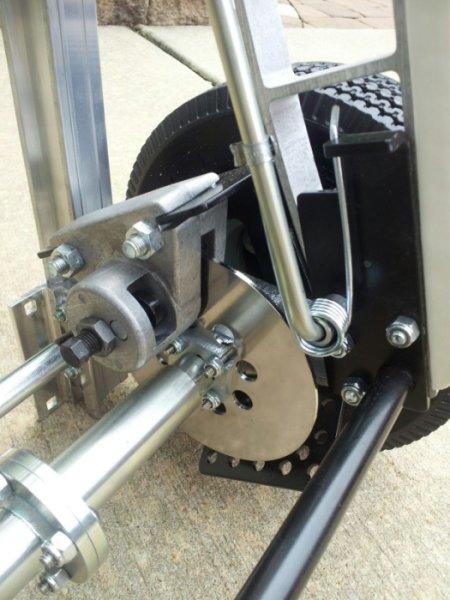 Bp Liberator Double Disc Brake Hand Truck