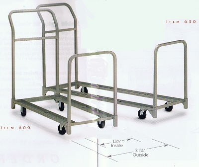 folding chair dolly 50 capacity good posture tv and stacking cart combination handtrucks2go