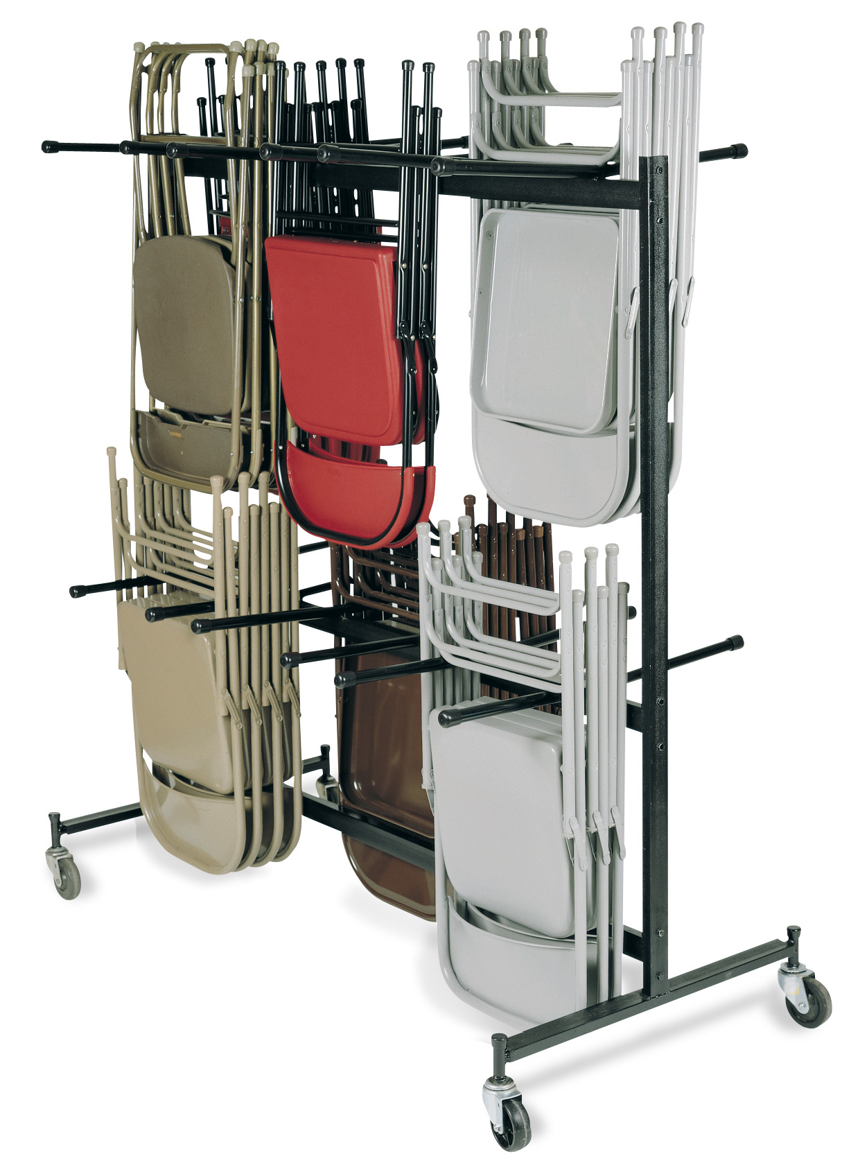 folding chair cart sport brella replacement umbrella hanging and caddies at handtrucks2go