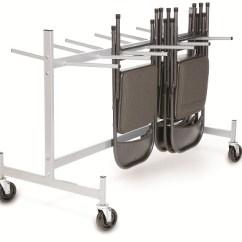 Folding Chair Dolly Hickory Counter Stool Short Hanging Cart Handtrucks2go Com Thumbnail