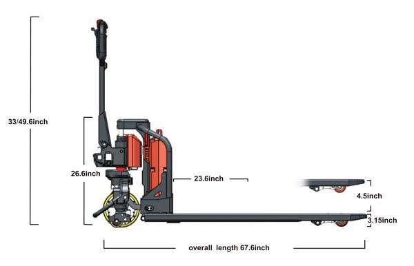 NOBLELIFT Semi-Electric Heavy Duty Pallet Truck