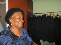 Dynamic Johanna, manager of a Soweto non-profit aimed at providing income generating and housing opportunities for people with disabilities.