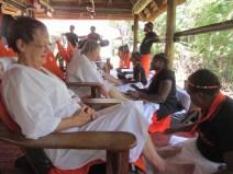 Mangwanani Spa staff learn income generating skills