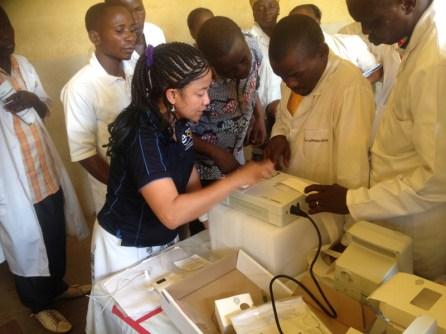 Dr Grace Maano training