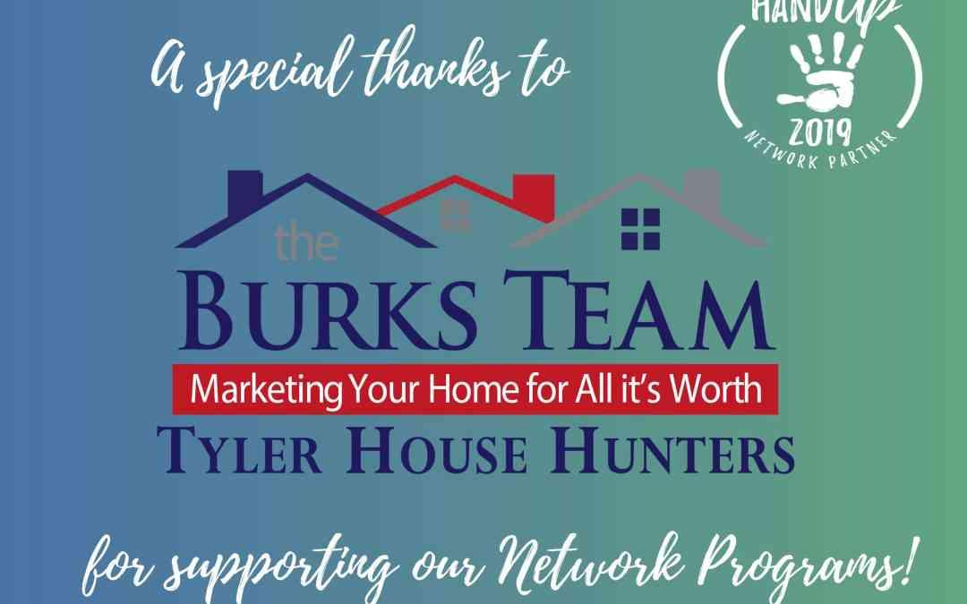 The Burks Team – Tyler House Hunters becomes Network Partner!