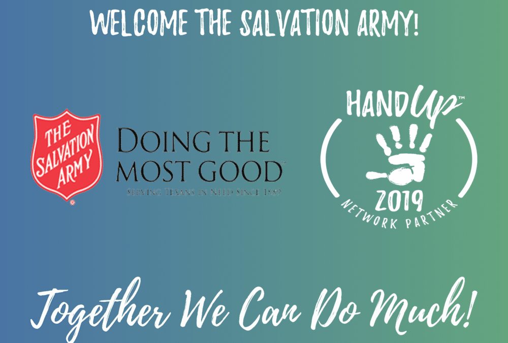 Welcome The Salvation of Army as a Network Partner!