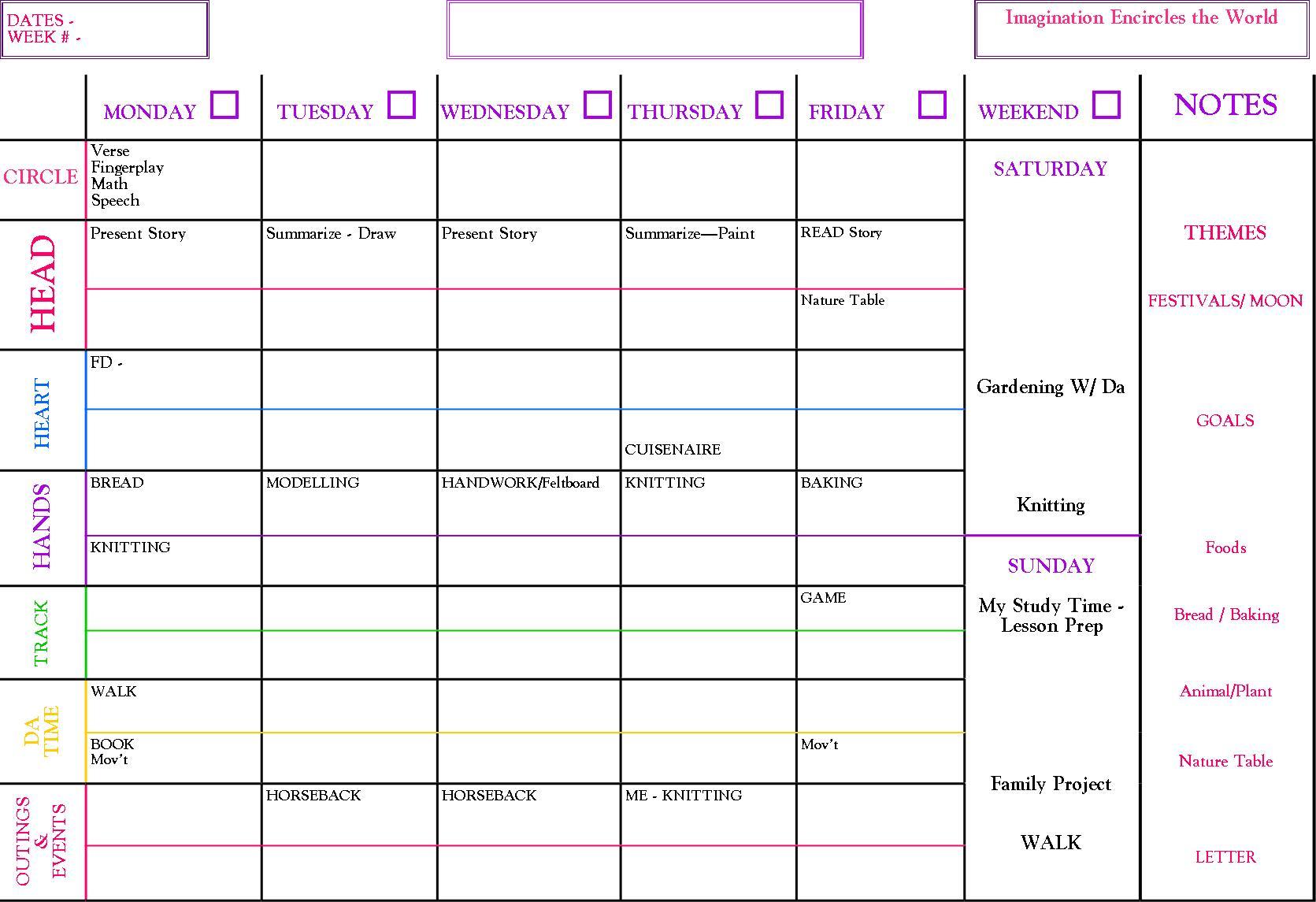 The Perfect Homeschool Curriculum Free Planning Sheet