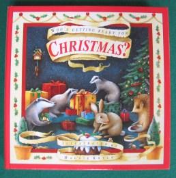 Getting Ready for Christmas Handwork Homeschool festive reading list