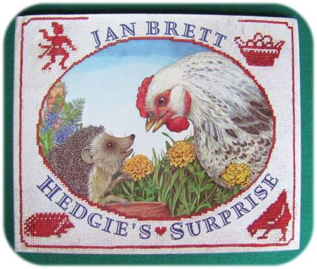 Hedgie's Surprise Jan Brett Handwork Homeschool