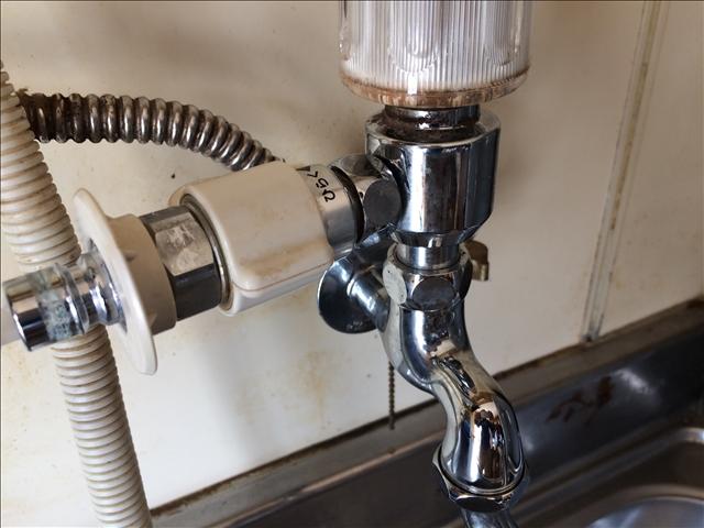 食洗器の分岐水栓