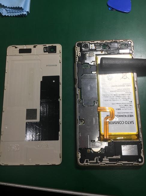 HUAWEI P8Liteのバッテリー交換のご依頼