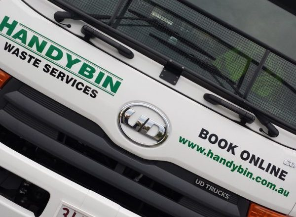 Handybin Waste Services Truck